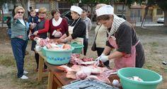 La matanza del cerdo revive la tradición en Santa María del Águila