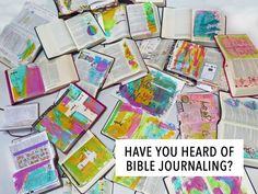 Have You Heard of Bible Journaling?