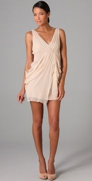 Alice + Olivia Faux Wrap Drape Dress on shopstyle.com