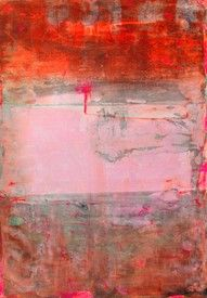 Bild-Nr: 10968752 orange pink painting
