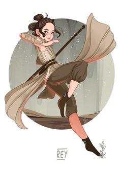 Star wars: Rey by lana-jay on DeviantArt