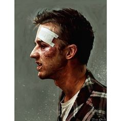 After a long streak of sleepless nights and afternoon naps, the body becomes rebelious. Old Movie Posters, Cinema Posters, Movie Poster Art, Club Poster, Fight Club 1999, Fight Club Rules, Tyler Durden, Chuck Palahniuk, David Fincher