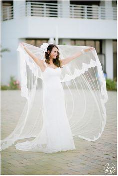 NJ Wedding Photographer | Ocean Place | Long Branch NJ | Kate Connolly Photography | Bride | Wedding Veil