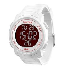 Outdoor Sport Waterproof Wrist Watch LED Backlight Chronograph Digital White New   Jewelry & Watches, Watches, Parts & Accessories, Wristwatches   eBay!