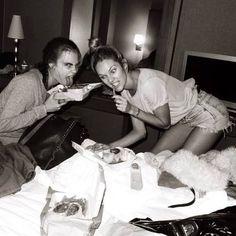 Cara Delavingne and Candice Swanepoel | Black & White