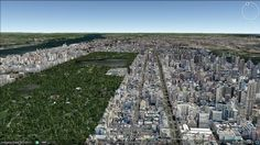 The view of Central Park and the UES 432 Park Avenue, I Have A Crush, Central Park, City Photo, Architecture, Arquitetura, Architecture Design