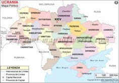 Ucrania es el segundo país más grande de la contigua Europa. Ucrania está situada en la Europa del este, y limita con Rusia, Bielorrusia, Polonia, Eslovaquia, Hungría, Rumanía y Moldavia. Ucrania también tiene frontera a lo largo del Mar Negro y el Mar de Azov.