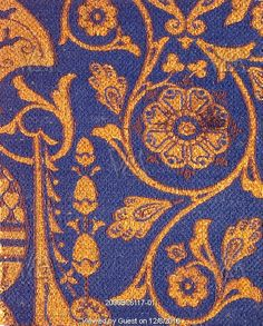 Textile, by Christopher Dresser. England, 1875