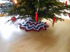 My world of crochet Weihnachtsbaumdecke gute Idee, warum bin ich nicht selbst drauf gekommen?☺