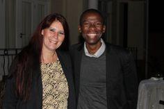 #MandelaMarathon #ROC #SocialMedia Donnette Fry w #Ambassador @MakhosiKhoza1 #Redlands #PMB
