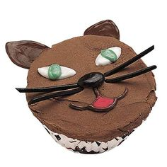 Purr-fect Cupcakes - Those round cupcake tops are ideal for creating fun faces. Any animals are sure to please, especially when they can be made with such ease--using our Candy Melts and licorice for the features.