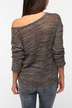 byCORPUS Marled Netted Pullover Sweater - Urban Outfitters bec028c1a