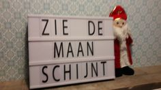 Lightbox Sinterklaas Lightbox Quotes, Licht Box, Banners, Letter Board, Lettering, Ideas, Everything, Banner, Drawing Letters