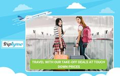 Then travel with our take-off deals at touch down prices, only at TripTyme Touch Down, When Things Go Wrong, Flight And Hotel, Travel Quotes, Patience, Flexibility, Traveling, How To Get, Happy