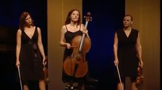 """You've seen those oh-so-dramatic classical music performances, haven't you? These four very talented and totally hilarious women display awesome chops even as they poke fun at their over-emoting fellow musicians. (Which you can see here.)"""