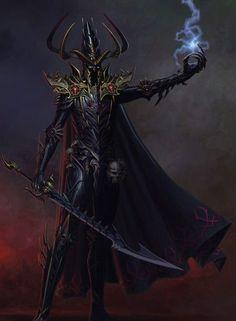 Warhammer Art Thread - Page 4 Fantasy Battle, Dark Fantasy Art, Fantasy Rpg, Medieval Fantasy, Fantasy Artwork, Warhammer Dark Elves, Warhammer Eldar, Aliens, Witch Elves