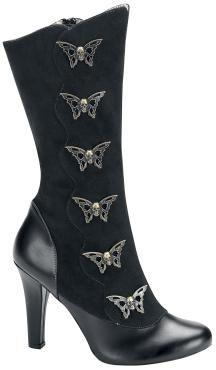 "Demonia Boots, Women ""Tesla 107"" black • EMP"