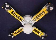 Ceiling Fan Designers 42FAN-NFL-PIT NFL Pittsburgh Steelers Football Ceiling Fan 42 In. by Ceiling Fan Designers, http://www.amazon.com/dp/B007IVEAH8/ref=cm_sw_r_pi_dp_k61prb0YT50VQ