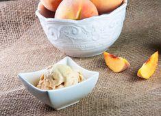 Bourbon Brown Sugar Peach Ice Cream