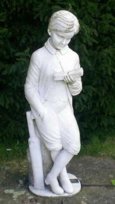 The Lord Byron statue