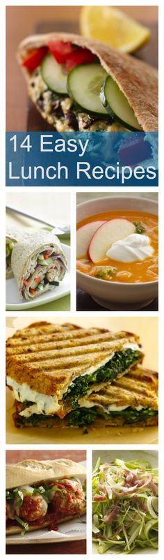 14 Delicious and Easy Lunch Recipes