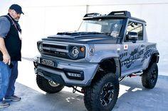 Suzuki Jimny, Ford Pickup Trucks, Car Colors, Horde, G Wagon, Jeeps, Offroad, Samurai, Monster Trucks