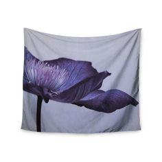 Kess InHouse Iris Lehnhardt 'Indigo' 51x60-inch Wall Tapestry