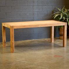 CG Sparks Reclaimed Teak Wood Simple Dining Table - 1286180009