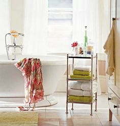 om Decorating and Design Get inspired to design your dream bathroom with decorating ideas from photo galleries, remodeling tips, before and afters makeovers, and more. < Back to Ultimate Guide to Bathroom Decorating a