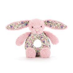 Jellycat Greifling Hase Bashful Blossom Tulip Bunny - Bonuspunkte, Rechnungskauf, DHL Blitzlieferung!