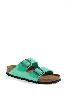 Birkenstock 'Arizona' Sandal (embracing my inner granola, but NOT embracing beige - ♥ the color)