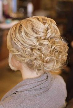 Wedding Braided Updos for Short Hair