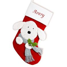 GiftsForYouNow Dog Personalized Christmas Stocking 19 >>> You can find out more details at the link of the image. (This is an affiliate link)