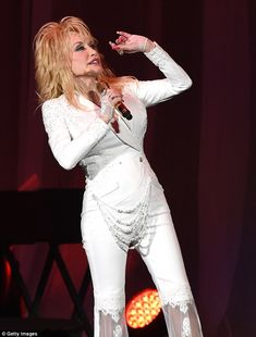 Dolly Parton performs at the Ryman Auditorium on Friday, July 31, 2015. Shelley Mays/The Tennessean — at Ryman Auditorium.