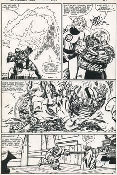 Fantastic Four #253, page 19 by John Byrne &... | John Byrne Draws...