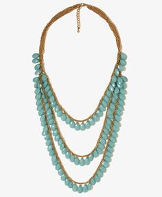 Draped Teardrop Necklace | FOREVER21 - $9.80