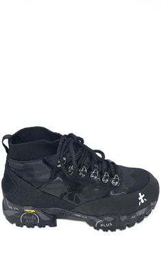 Blue Military Hi-top Trekking Boots by Premiata