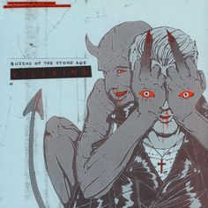 Queens Of The Stone Age Villains 2 x VINYL LP SET (LIMITED COVER ART EDITION)