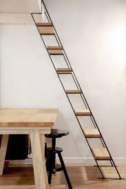 Image result for stairs using very little space
