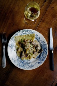 Duck confit & foie gras raviolis / by Manger
