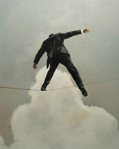 Eric Zener - Paintings - Balance
