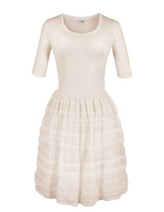 Robe femme : Repetto, robe en maille fantaisie