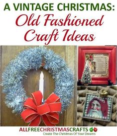 Get ready to step back in time with some of these fantastic old-fashioned crafts that exude a vintage feel.