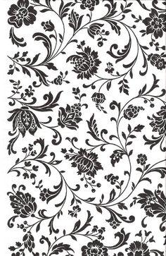 Fondos para decoupage y scrapbooking / Decoupage and scrapbooking backgrounds Scrapbooking Diy, Scrapbook Paper, Textile Patterns, Print Patterns, Border Embroidery Designs, Motif Vintage, Black And White Background, Gold Print, Tile Art