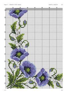 Cross Stitch Rose, Cross Stitch Borders, Cross Stitch Flowers, Cross Stitch Patterns, Hungarian Embroidery, Hand Embroidery, Fabric Painting, Bead Art, Blackwork