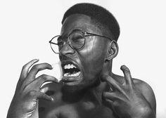 Juxtapoz Magazine - Hyperreal Pencil Drawings by Nigerian artist Arinze Stanley
