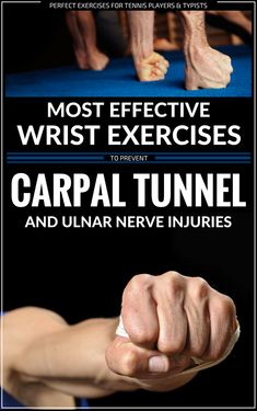 Most Effective Wrist Exercises To Prevent Carpal Tunnel And Ulnar Nerve Injuries ulnarnerve carpaltunnel wrists exercises wristinjuries 481181541439271419 Carpal Tunnel Relief, Knee Pain Relief, Carpal Tunnel Syndrome, Carpal Tunnel Exercises, Ulnar Nerve Exercises, Arm Exercises, Forearm Muscles, Lymph Massage, Stretching