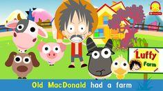 เพลงเด็กคาราโอเกะ ♫ เพลง Old MacDonald had a farm ♫ เพลงเด็กอนุบาลภาษาอั...