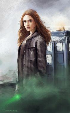 Doctor Who: Amy Pond by VitoSs.deviantart.com on @deviantART