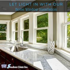 Let Light In With Our Home Window Installation Windows Door Installation Window Installation